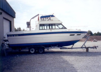 Boat Fixed By CAC Plastics Alaska