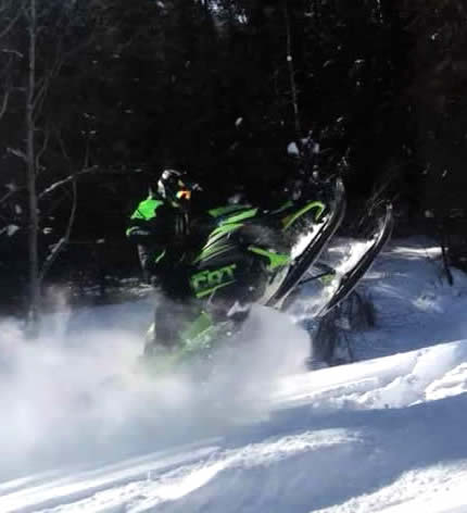 Snowmobile Repairs CAC Plastics Alaska